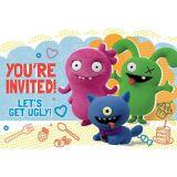Invitations UglyDolls, paq. 8