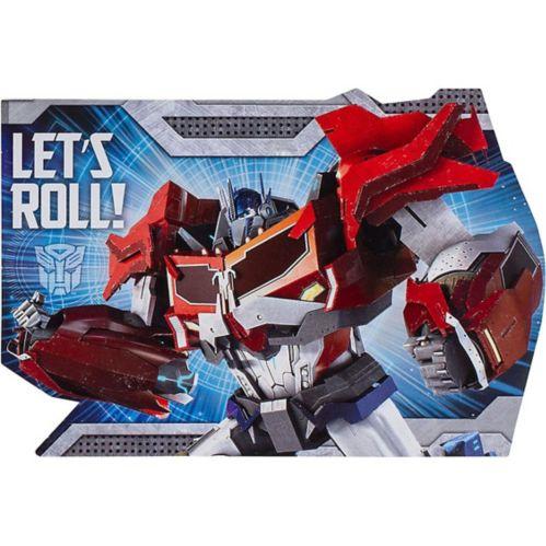 Invitations Transformers, paq. 8