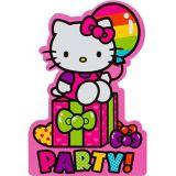 Invitations Hello Kitty arc-en-ciel, paq. 8 | SANRIOnull