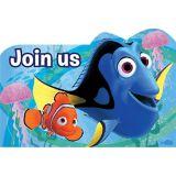 Invitations Trouver Doris, paq. 8 | Disneynull