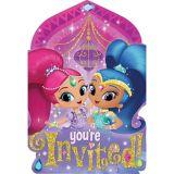 Shimmer and Shine Invitations, 8-pk | Disneynull
