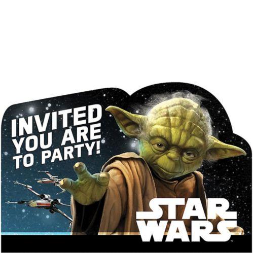 Star Wars Invitations, 8-pk