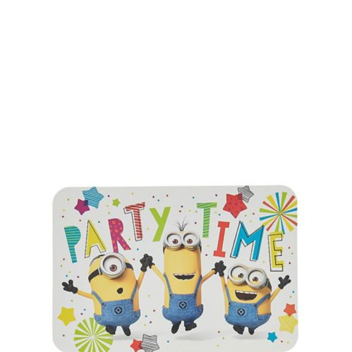Invitations Minion, paq. 8
