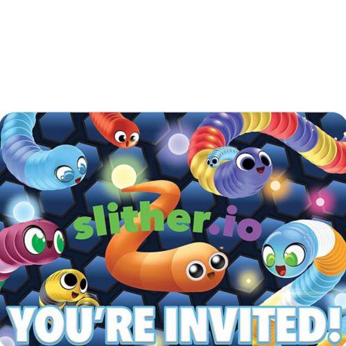 Invitations Slither.io, paq. 8