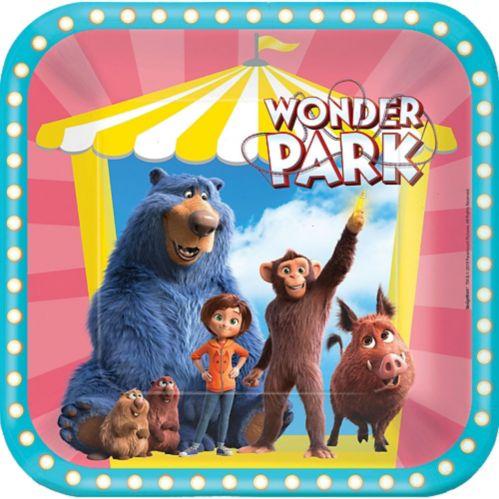 Wonder Park Lunch Plates, 8-pk