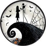 The Nightmare Before Christmas Lunch Plates, 8-pk | Disneynull