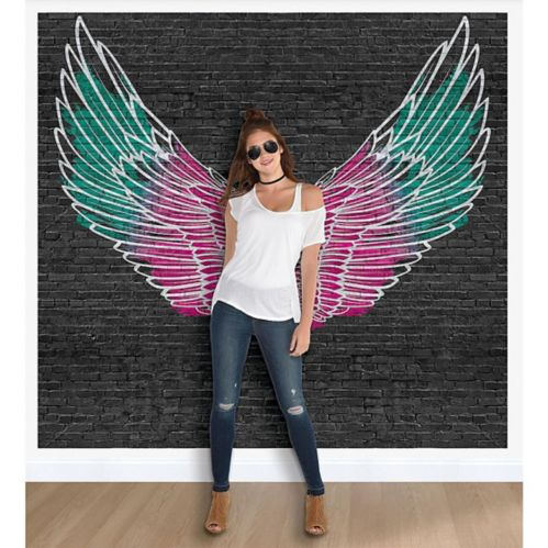 Colourful Wings Scene Setter, 9-pc