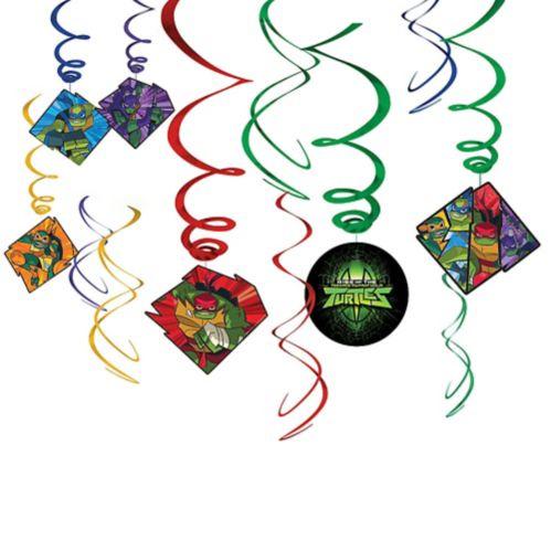 Rise of the Teenage Mutant Ninja Turtles Swirl Decorations, 12-pc