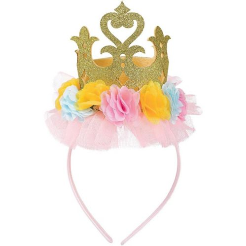 Disney Once Upon a Time Floral Crown Headband