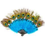 Accessoire éventail et queue à plumes de paon | Amscannull