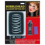 Bobblehead Illusion Tattoo Kit, 4-pc