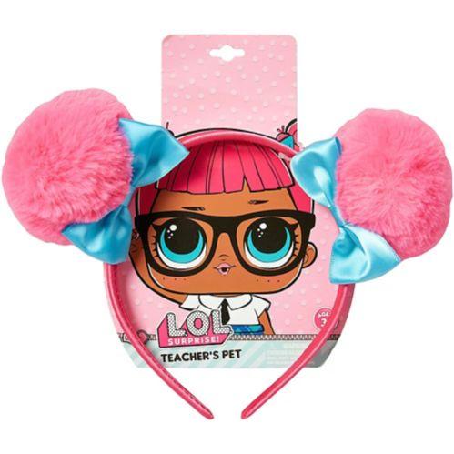 LOL Surprise Pink Pom Pom Headband