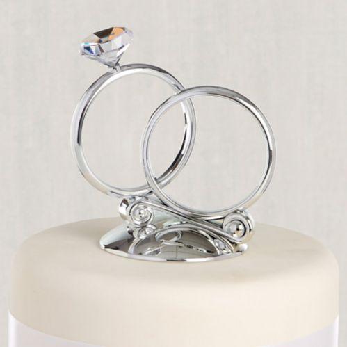 Rings Wedding Cake Topper