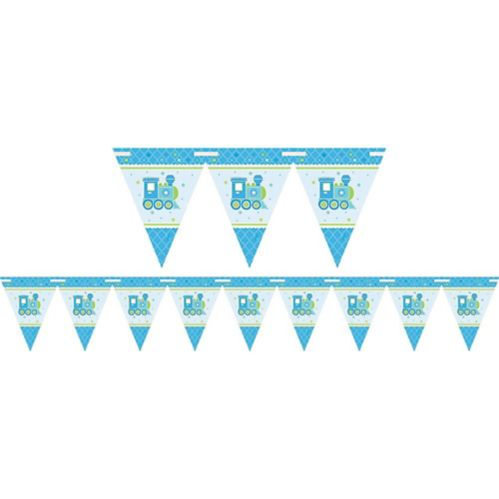 Welcome Little One Boy Banner, 15-ft