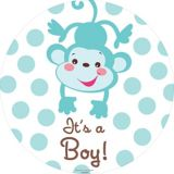 Fisher Price Baby Shower Banners, 2-pc