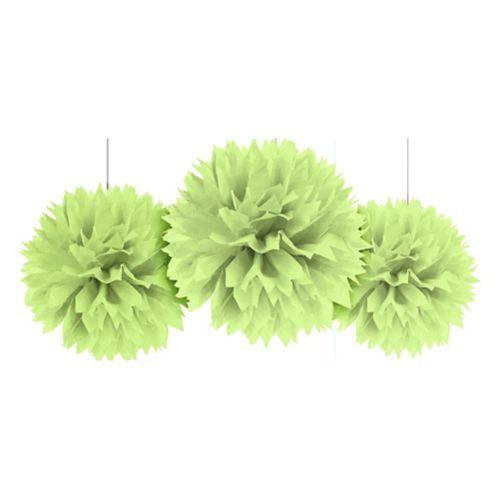 Honeydew Fluffy Decoration, 3-pc