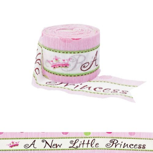 Bannière crêpe New Little Princess, 1,9 po