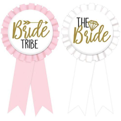 Bride Tribe Bachelorette Party Award Ribbons, 8-pk