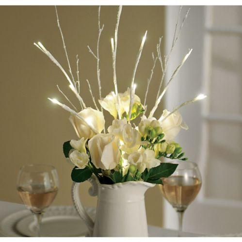 Branche lumineuse à DEL blanche