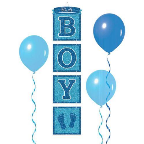 Affiche empilée scintillante It's a Boy