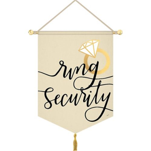 Ring Security Canvas Sign