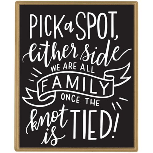 Customizable Chalkboard Easel Sign, 5-pc