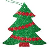 Glitter Classic Holiday Gift Tags, 12-pk