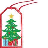 Étiquettes-cadeaux Noël moderne, paq. 36