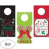 Christmas Wine Tags, 6-pk
