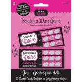 Team Bride Scratch a Dare Bachelorette Party Game
