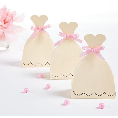 Wedding Dress Favour Box