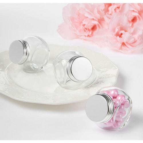 Glass Cruet Wedding Favour Containers, 12-pk