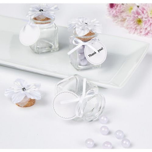 Glass Jar Wedding Favour Kit, 12-pk