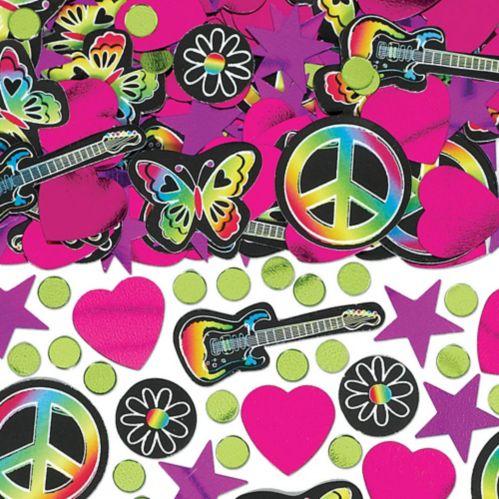 Neon Doodle Confetti, 3-pc