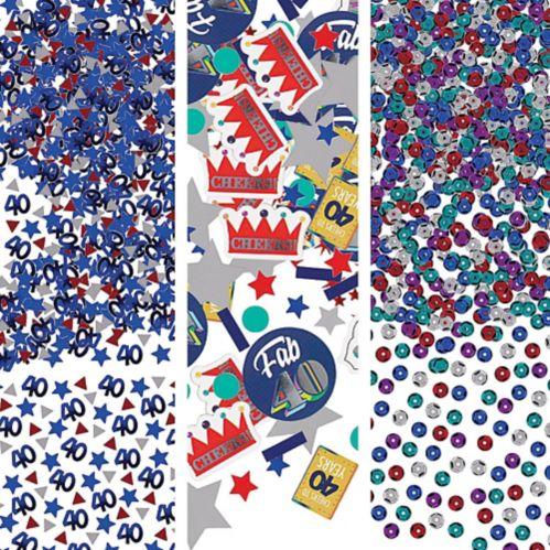 Here's to 40 Birthday Confetti