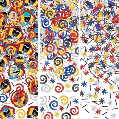 Confettis Power Rangers