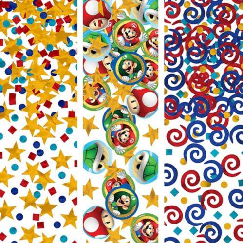Confettis Super Mario