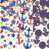 Confettis de style nautique