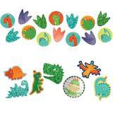Confettis géants Dino-Mite, paq. 48
