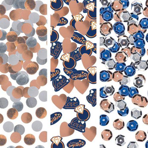 Confettis Navy Love