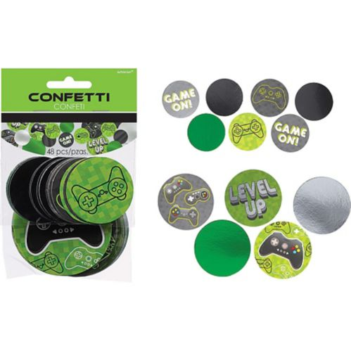 Giant Level Up Confetti, 48-pc