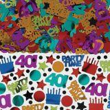 Dot & Stripe 40th Confetti, 2.5-oz