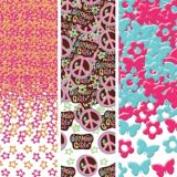 Hippie Chick Birthday Value Pack Confetti