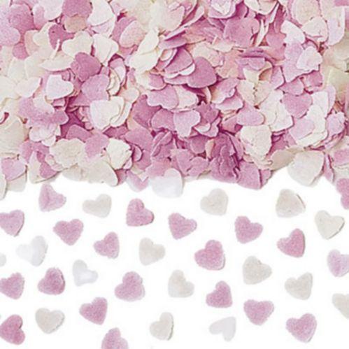 Pink Heart Confetti Popper, 2-oz