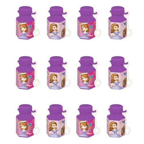 Solution à bulles Princesse Sofia, mini, 12pièces