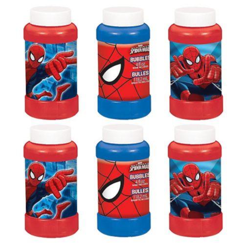 Spider-Man Bubbles, 6-pk