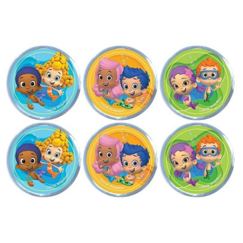 Bubble Guppies Bounce Balls, 6-pk