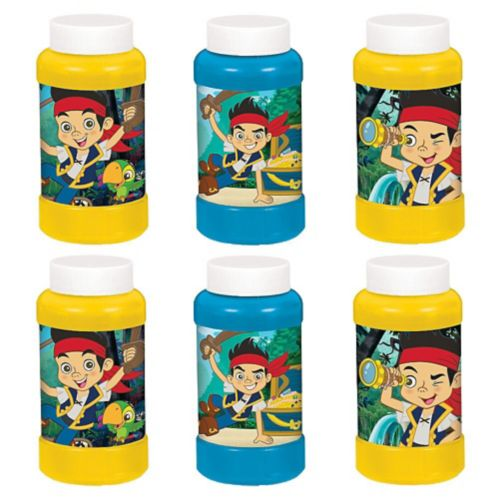 Jake and the Never Land Pirates Bubbles, 6-ct