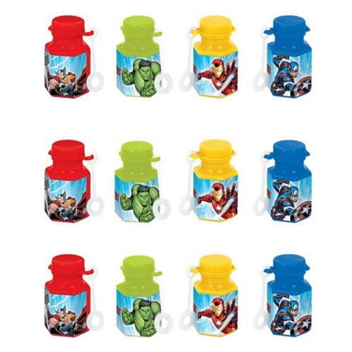 Avengers Mini Bubbles, 12-pk