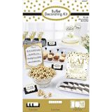 Eat, Drink Be Married Buffet Decorating Kit, 12-pc